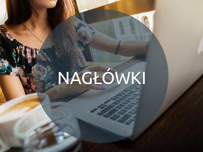 Nagłówki - Strony internetowe Białystok