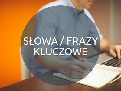 Słowa kluczowe - Strony internetowe Białystok